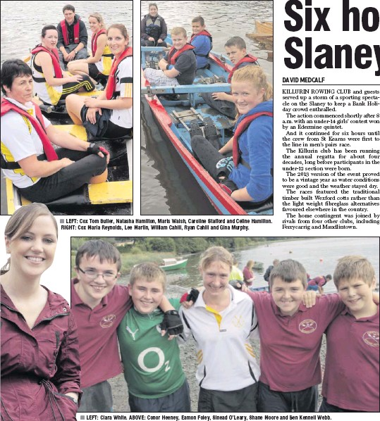 Pressreader wexford people 2013 08 13 six hours of slaney sport left cox tom butler natasha hamilton maris walsh caroline stafford and celine hamilton right cox maria reynolds lee martin william cahill thecheapjerseys Images