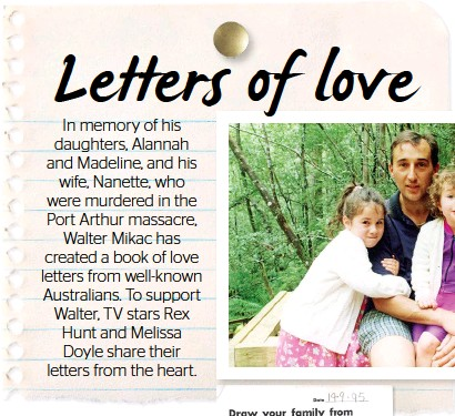 letters of hope and joy that i still read today when i need comfort and solace the love of alannah and madeline is still alive in the world