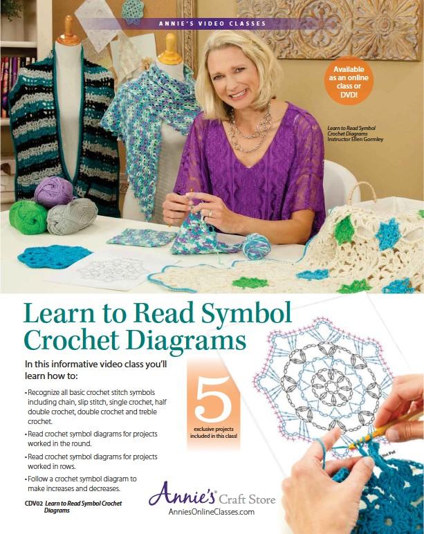 Pressreader Crochet 2017 10 01 Learn To Read Symbol Crochet