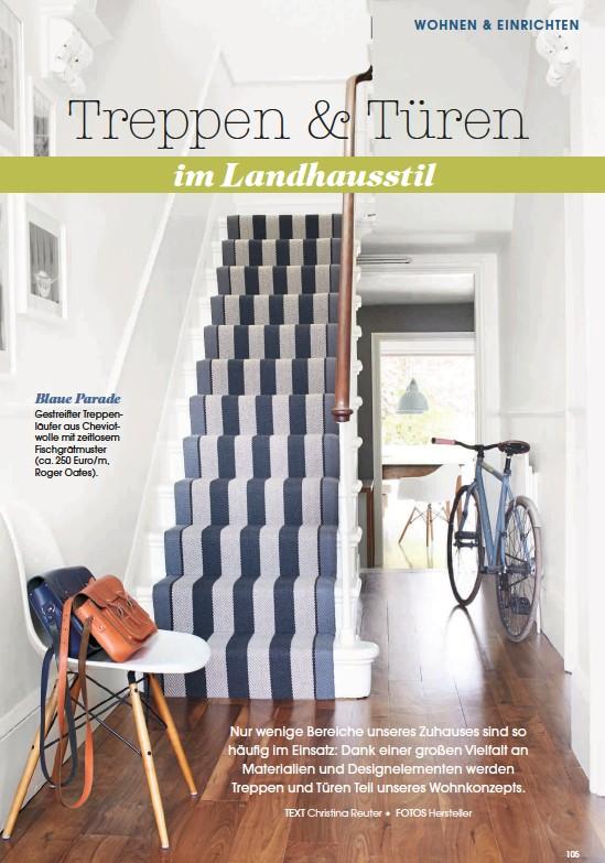 Pressreader   landhaus living: 2015 01 07   treppen & türen im ...