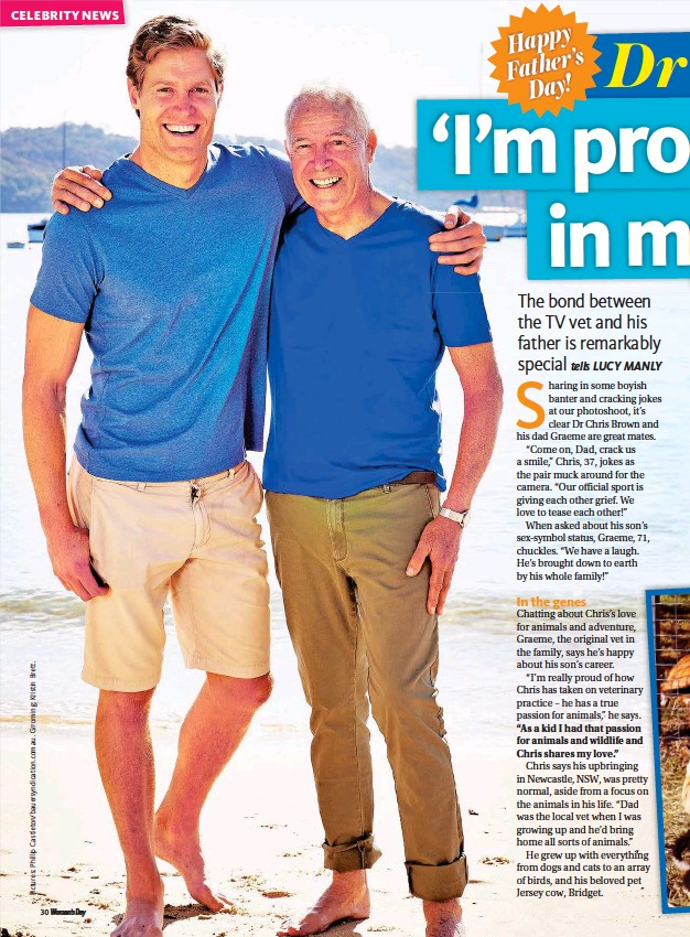 Pressreader Woman S Day Australia 2016 08 29 Dr Chris And Dad