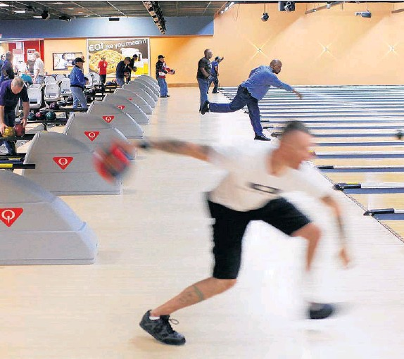 DANIEL SANGJIB MIN TIMES DISPATCH S At AMF Hanover Lanes In Mechanicsville The Bowling Center Which Is Next To Headquarters Of Worldwide