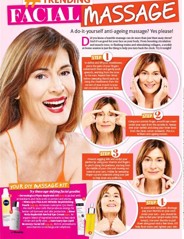 Pressreader womans day australia 2016 10 31 facial massage 3 2 1 solutioingenieria Gallery