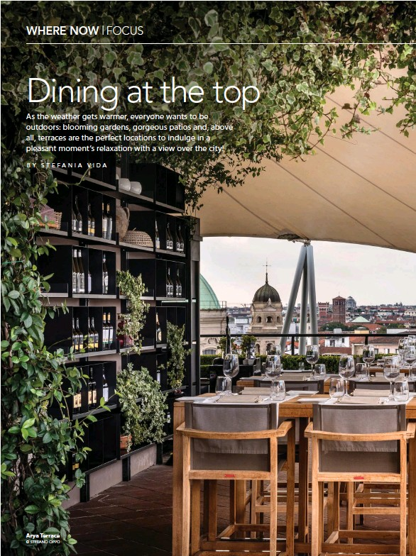 Pressreader Where Milan 2017 06 01 Dining At The Top