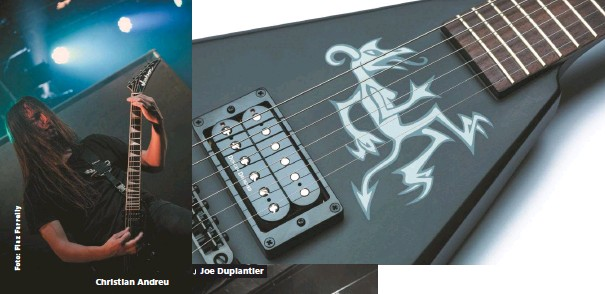 PressReader - Gitarre & Bass: 2017-05-19 - Charvel Joe Duplantier ...