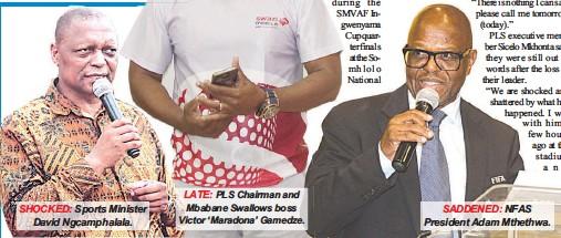 Pressreader swazi observer 2018 01 15 a tribute to victor gamedze a tribute to victor gamedze stopboris Gallery