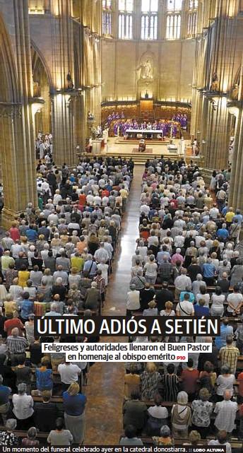 ÚLTIMO ADIÓS A SETIÉN
