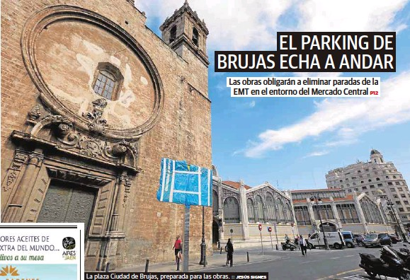 EL PARKING DE BRUJAS ECHA A ANDAR