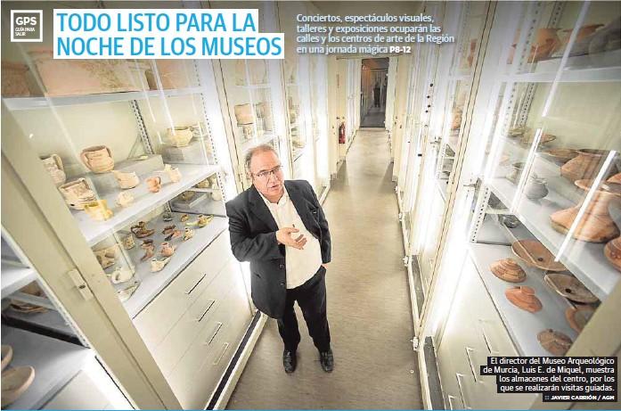 TODO LISTO PARA LA NOCHE DE LOS MUSEOS
