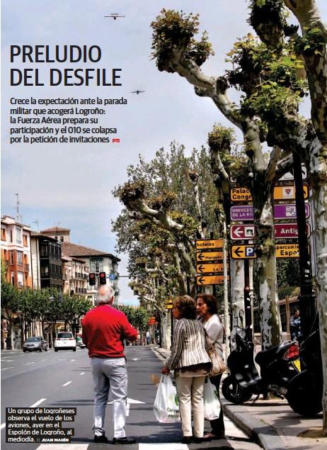 PRELUDIO DEL DESFILE