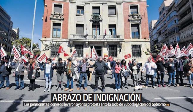 ABRAZO DE INDIGNACIÓN
