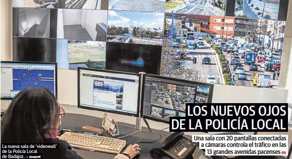 LOS NUEVOS OJOS DE LA POLICÍA LOCAL