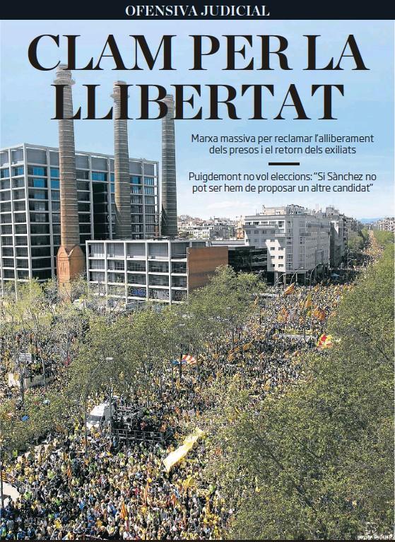 CLAM PER LA LLIBERTAT
