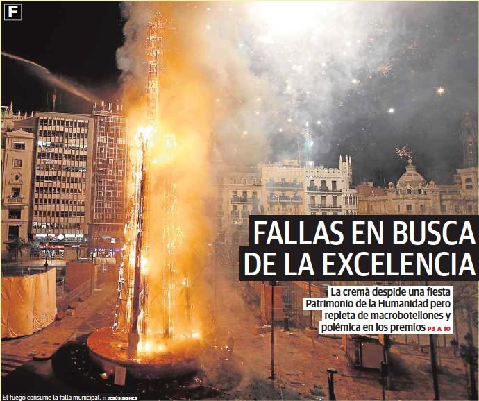 FALLAS EN BUSCA DE LA EXCELENCIA